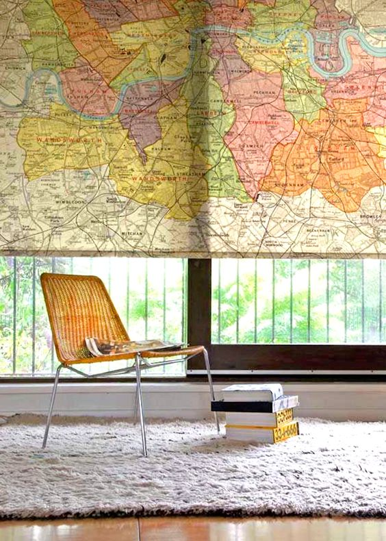 All Around The World Five Ways To Decorate With Maps